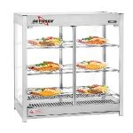 Skyfood Heatd Merchandisr Cabinet Pas Thru 3 Shelf Steam LineHMC-PT