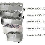 Steril-Sil 3-hole Condiment DispenserLTC-3SW