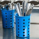 Steril-Sil Blue Silverware CylinderRP-25-BLUE