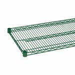 Thunder Group Epoxy Coating Wire Shelves 18″ X 72″ With 4 Set Plastic Chip