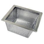 Thunder Group Floor Drain Strainer, 304 Stainless Steel, 0.8Mm, 10″ X 10″ X 5″