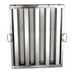 Thunder Group Hood Filter 20″ X 25″, Stainless Steel