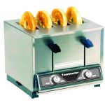 Toastmaster Pop Up Toaster – Four slot bagel and bun, 120V