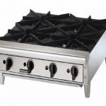 Toastmaster 24″ Countertop Hot Plate, Gas-Natural