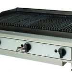 Toastmaster 24″ Countertop Gas Charbroiler, Lava Rock, Gas-Natural