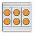 Toastmaster Range Six Round Hotplates – MARINE MODEL, Convection Oven Base