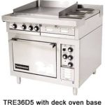Toastmaster Range Six Round Hotplates, Deck Oven Base