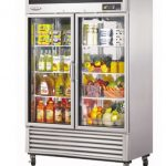 TurboAir New Maximum Glass Door Refrigerator, two-section, 49 cu. ft, 1/3 hp, NSF, UL, cUL, ETL, cETL, ENERGY STAR®