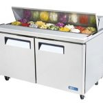 TurboAir M3 Series Sandwich/Salad Unit, 16 cu. ft, self-contained, 1/3 HP, ETL, cETL, NSF, 8.9 amps