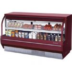 TurboAir Deli Case, refrigerated, 36 1/2″ W, high profile, self contained refrigeration system, (2) adjustable cantilevered wire shelves, 1/3 hp, 115V/60/1, 6.1 amps, ETL, cETLus