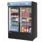 TurboAir Refrigerated Merchandiser, two-section, 50 cu. ft, white cabinet, 1/2 HP, NSF, UL cUL, ETL, cETL