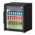 TurboAir Super Deluxe Refrigerated Merchandiser, one-section, 5.9 cu. ft, white interior, 1/7 HP, ETL, cETLus, ENERGY STAR®