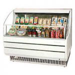 TurboAir Horizontal Open Display Merchandiser, slim-line, 39″ W x 33 1/2″ D x 41 1/2″ H, SS interior, white exterior, 115v/60/1, 11.0 amps, 1/2 HP