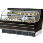 TurboAir Horizontal Open Display Merchandiser, low-profile, 63 1/4″ W x 33 1/2″ D x 45 3/4″ H, SS interior, black exterior, 115v/60/1, 14.5 amps 3/4 HP, ETL, cETLus