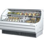 TurboAir Horizontal Open Display Merchandiser, low-profile, 75 5/8″ W x 33 1/2″ D x 45 3/4″ H, SS interior, white exterior, 115v/60/1, 14.5 amps, 3/4 HP, ETL, cETLus