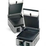 Univex Single Cast Iron Flat Plate Panini Press