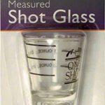 Update International Measuring Shot Glass 1.5 oz