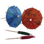 Update International Parasol Picks (144 pc/Bx) (Blue, Yellow, Orange, Green)