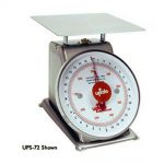 Update International Scale S/S 7in Dial 2Lb