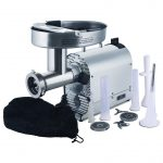 Weston NEW #22 SS Meat Grinder & Sausage Stuffer – 1.5 HP10-2201-W