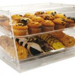 Winco Acrylic 2 Tray Display Cases