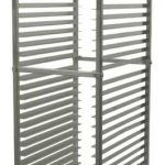 Winco 30 Tier Aluminum Rack, Space:2″; With Brake