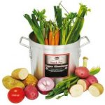 Winco Aluminum Stock Pot 60 Qt, 4.75Mm