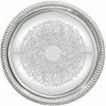 Winco 14″ Round Chrome Tray