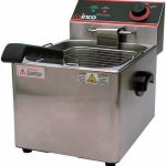 Winco Electric Fryer, Single Well,16Lb Capacity