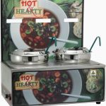 "Winco Soup Merchandise With Two 7Qt Insets,""Hot Hearty"""