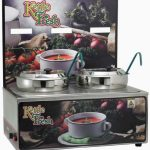 "Winco Soup Merchandise With Two 7Qt Insets,""Kettle Fresh"""