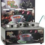 "Winco Soup Merchandise With Three 4Qt Insets,""Kettle Fresh"""