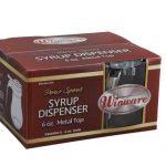 Winco 6 Oz Syrup Dispenser, (6Pcs/Color Box)