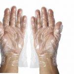 Winco Pe Glove Textured Gloves-M, 500Pcs/Box