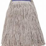 Winco 24Oz, 600G White Yarn Mop Head, Cut Head