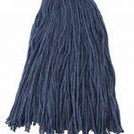 Winco 32Oz, 800G Blue Yarn Mop Head, Cut Head