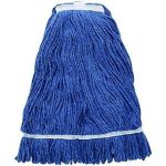 Winco 24Oz, 600G Premium Blue Yarn Mop Head, Looped End