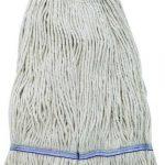 Winco 24Oz, 600G Premium White Yarn Mop Head, Looped End