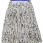 Winco 24Oz, 600G Premium White Yarn Mop Head, Cut Head