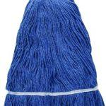Winco 32Oz, 800G Premium Blue Yarn Mop Head, Looped End