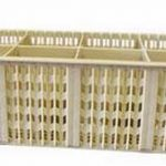 Winco 8-Compartment Cutlery Basket W/Hdl