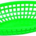 Winco Premium Oval Platter Bakset – Shining Green