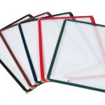 Winco Single Menu Covers, Red