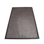 Winco Floor Mat 3'X5′,Anti-Fatigue, Blk