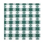 Winco Table Cloth, 52″ X70″ Oblong, Green