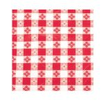 Winco Table Cloth, 52″ X70″ Oblong, Red