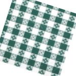Winco Table Cloth, 52″ X52″ Square, Green