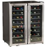 Wine Enthusiast 48-Bottle Dual-Zone Free Standing Wine Cooler